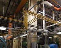 завод боилера пронзительный Стоковая Фотография RF