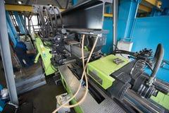 Завод для обрабатывать пластмасс стоковое изображение rf