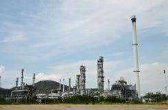 завод масла очищает Стоковые Изображения RF