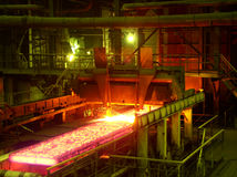 завод металла Стоковые Фотографии RF