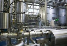 завод молокозавода Стоковая Фотография