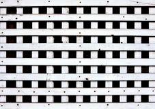завод панели hang к белое деревянному Стоковое Фото