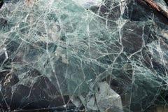 Завод по переработке вторичного сырья стекла автомобиля Стоковые Фотографии RF
