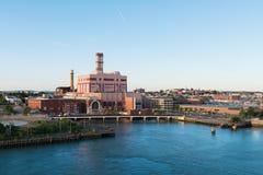 Завод производства электроэнергии Стоковые Фото