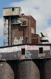 завод солода 11 старый Стоковые Фото