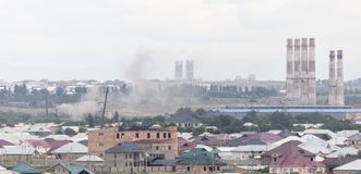 Завод трубы в Shymkent kazakhstan Стоковые Фото