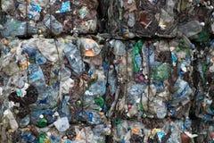 завод утилизации отходов сортируя Стоковое Изображение
