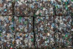 завод утилизации отходов сортируя Стоковые Изображения