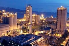 Завод цемента Стоковые Изображения RF