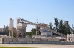 завод цемента стоковые изображения