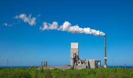 завод цемента Стоковые Фотографии RF