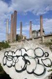 завод цемента Стоковое Изображение RF