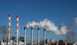 завод энергии Стоковые Изображения