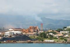 Завод SLN - Noumea, Новая Каледония стоковое фото rf