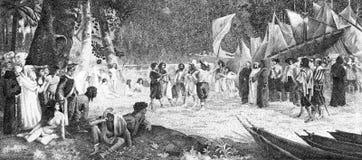 завоевание Амазонкы стоковая фотография