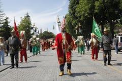 завоевание istanbul стоковые фотографии rf