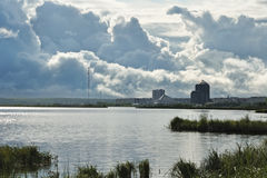 заволакивает гигантский Сибирь Стоковые Изображения RF