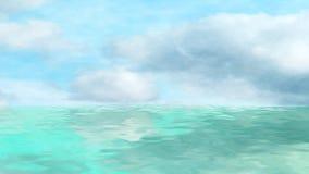 заволакивает море Стоковое Изображение RF