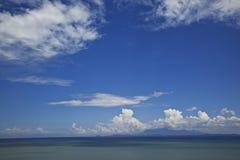 заволакивает море Стоковая Фотография RF