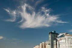 заволакивает небеса стоковые изображения rf