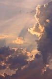 заволакивает небесное стоковая фотография rf