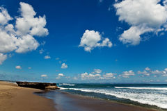 заволакивает океан Стоковые Изображения RF
