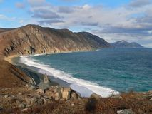 заволакивает прибой моря Стоковое Фото
