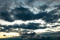 заволакивает темнота зловещая Стоковые Фото