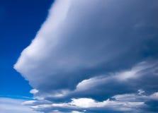 заволакивает шторм meteo Стоковая Фотография