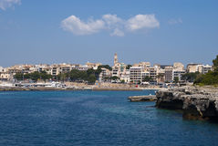 заволакивает majorca cristo над курортным городом porto Стоковые Изображения