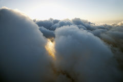 заволакивает skyscape Стоковые Изображения RF
