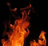 Завораживающие фото пламен стоковое изображение