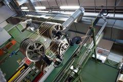 Завод автоматизированной фабрики для электрической детали Стоковая Фотография