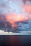 заволакивает восход солнца Стоковая Фотография RF