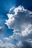 заволакивает солнечность Стоковое Изображение RF