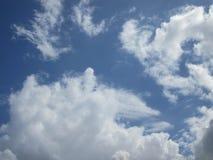 заволакивает темный драматический шторм Стоковая Фотография RF