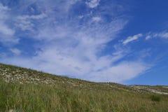 заволакивает холм Стоковая Фотография RF