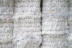 Завод бумажной фабрики - бумага и картон для рециркулировать Стоковые Изображения RF