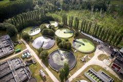 Завод водоочистки Стоковые Изображения