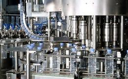 Завод воды разливая по бутылкам Стоковое Изображение RF