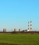 Завод и зеленое поле Стоковые Фотографии RF