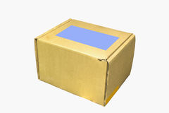 Завод картонной коробки Стоковая Фотография