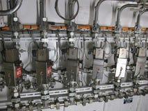 Завод машинного отделения и оборудование механика Стоковое Изображение RF