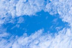заволоките небо Стоковое Изображение
