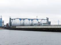 Завод по обработке нечистот в Гамбурге Стоковое Изображение