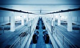 Завод по обработке нечистот стоковое изображение rf