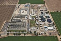 Завод по обработке сточных водов Стоковое Изображение RF