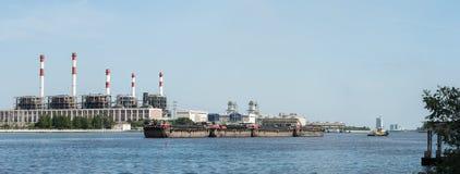 Завод рафинадного завода электричества в Таиланде Стоковое Фото