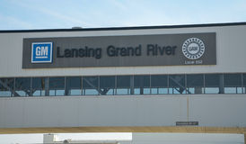 Завод реки GM Лансинга грандиозный Стоковая Фотография RF