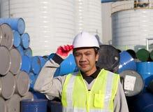 Заводской рабочий Стоковое Изображение RF